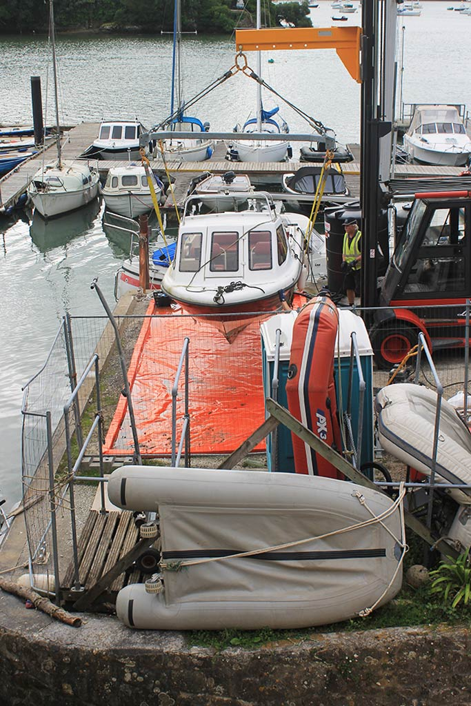 Environmentally-friendly boat cleaning in Cornwall
